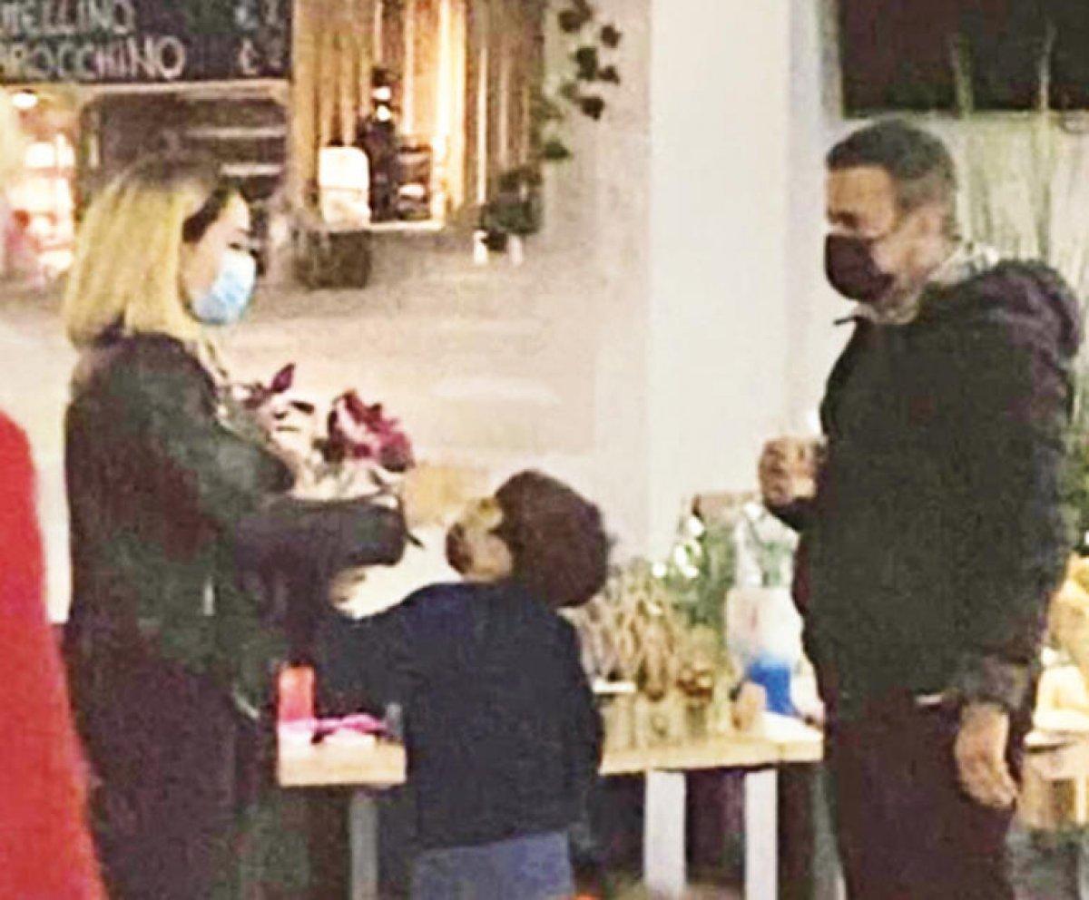 Emrah ile Sibel Erdoğan çocukları için buluştu #1