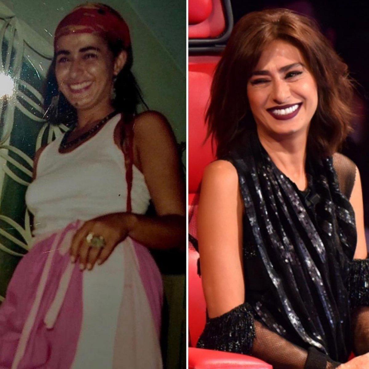 Yıldız Tilbe nin gençliğini Nesrin Cavadzade ye benzettiler #1